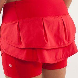 Size 6 - Lululemon Run: Speed Squad Skirt